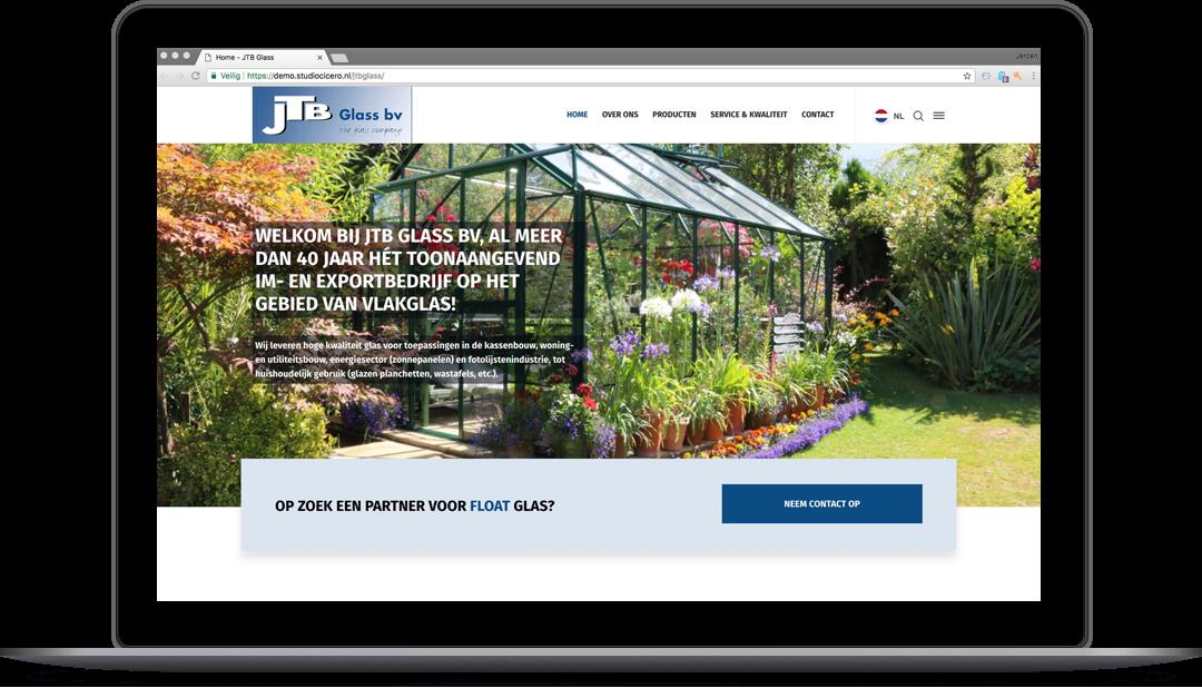 webdesign jtbglass